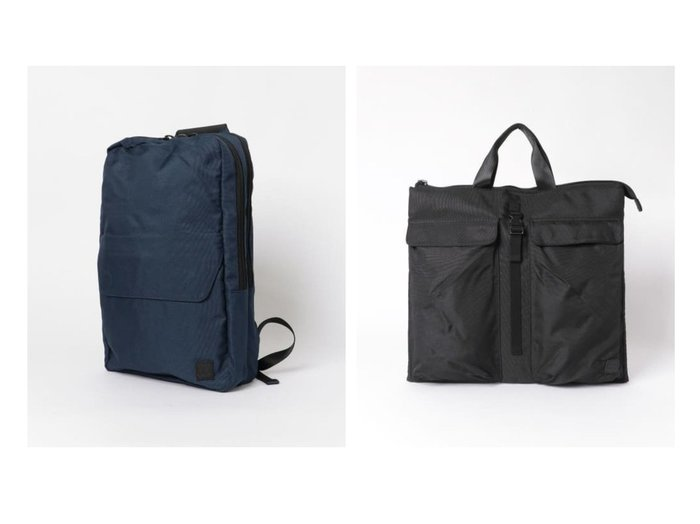 【URBAN RESEARCH / MEN/アーバンリサーチ】の【別注】C6 Oppenheimer Backpack&【別注】C6 Helmet bag 【MEN】別注・限定・コラボなど、おすすめで人気!メンズファッション通販 おすすめファッション通販アイテム インテリア・キッズ・メンズ・レディースファッション・服の通販 founy(ファニー) https://founy.com/ ファッション Fashion メンズ MEN バッグ Bag Men スマート フラップ ポケット 別注 マグネット リュック 冬 Winter  ID:crp329100000004625