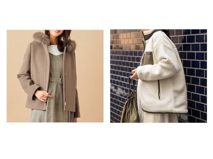 【any SiS/エニィ スィス】の【3WAY】スーペリアファインウールモッサ ショート コート&【niko and…/ニコアンド】のハイショクワイドボアBZ20 アウターのおすすめ!人気、レディースファッションの通販 おすすめファッション通販アイテム レディースファッション・服の通販 founy(ファニー) ファッション Fashion レディース WOMEN アウター Coat Outerwear コート Coats ジャケット Jackets ブルゾン Blouson Jackets エレガント カシミヤ ショート シンプル ジャケット フォックス ポケット |ID:crp329100000004745