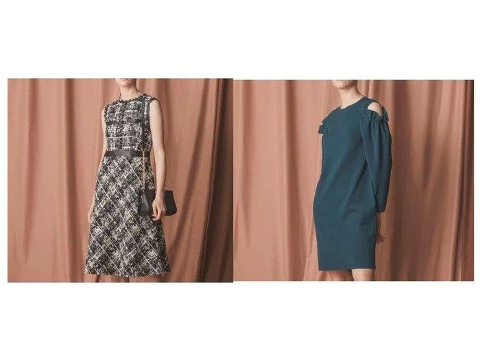 【EPOCA/エポカ】のハニーニットドレス&マリアツイードドレス ワンピース・ドレスのおすすめ!人気、レディースファッションの通販 おすすめファッション通販アイテム レディースファッション・服の通販 founy(ファニー) ファッション Fashion レディース WOMEN ワンピース Dress ドレス Party Dresses エレガント ジャケット ツィード ツイード ドレス フィット フォーマル フランス フリンジ フレア プリント モダン A/W 秋冬 Autumn & Winter |ID:crp329100000004769