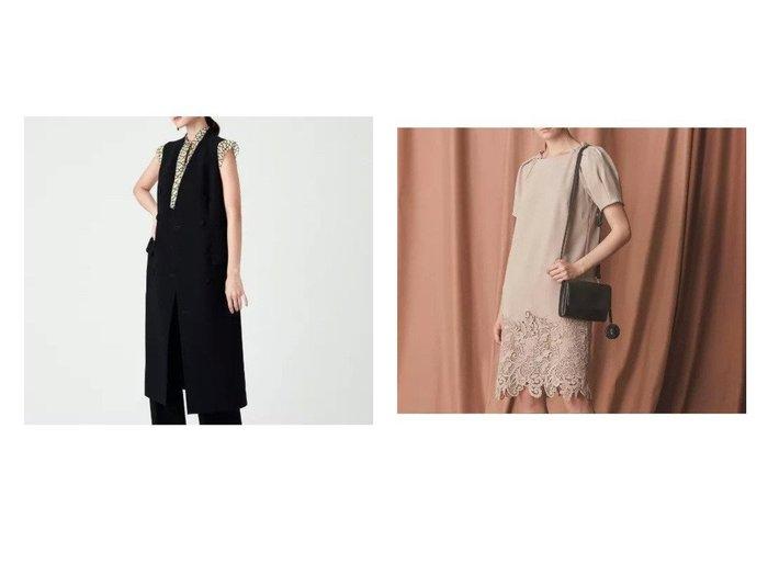 【EPOCA/エポカ】のケミカルレースドレス&ロイヤルジョーゼット2WAYドレス ワンピース・ドレスのおすすめ!人気、レディースファッションの通販 おすすめファッション通販アイテム インテリア・キッズ・メンズ・レディースファッション・服の通販 founy(ファニー) https://founy.com/ ファッション Fashion レディース WOMEN ワンピース Dress ドレス Party Dresses コンパクト ジョーゼット ドレス フォーマル A/W 秋冬 Autumn & Winter |ID:crp329100000004770