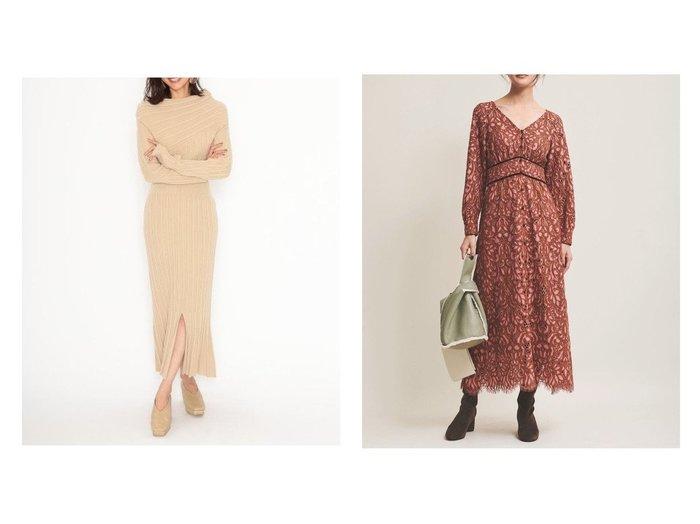 【SNIDEL/スナイデル】のワンショルリブワンピース&【The Virgnia/ザ ヴァージニア】の配色カラーレースワンピース ワンピース・ドレスのおすすめ!人気、レディースファッションの通販 おすすめファッション通販アイテム レディースファッション・服の通販 founy(ファニー) ファッション Fashion レディース WOMEN ワンピース Dress マキシワンピース Maxi Dress アシンメトリー エレガント ショルダー トレンド パターン マキシ マーメイド ロング |ID:crp329100000004775