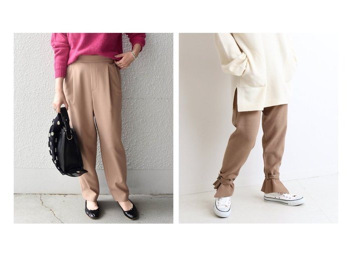 【SHIPS any/シップス エニィ】のSHIPS any ストレッチ ジョッパーズパンツ&【SLOBE IENA/スローブ イエナ】のミラノリブジョガーパンツ パンツのおすすめ!人気、レディースファッションの通販 おすすめファッション通販アイテム レディースファッション・服の通販 founy(ファニー) ファッション Fashion レディース WOMEN パンツ Pants A/W 秋冬 Autumn & Winter フェミニン フリル リラックス 楽ちん ストレッチ スマート |ID:crp329100000004837