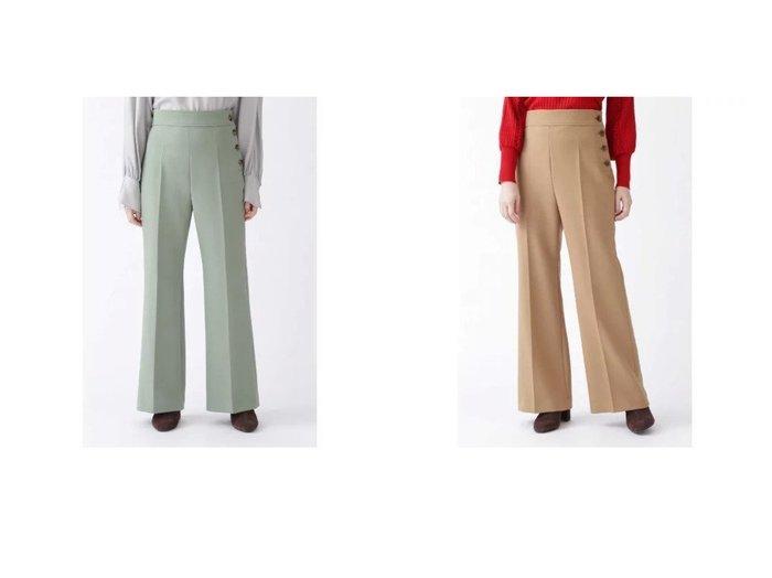 【JILLSTUART/ジルスチュアート】のミラパンツ パンツのおすすめ!人気、レディースファッションの通販 おすすめファッション通販アイテム レディースファッション・服の通販 founy(ファニー) ファッション Fashion レディース WOMEN パンツ Pants センター ダブル バランス ワイド |ID:crp329100000004856
