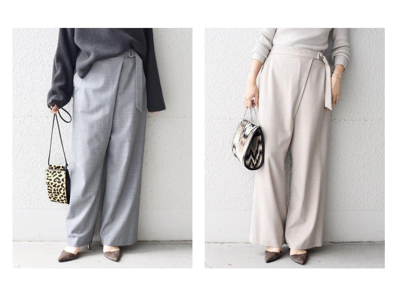 【SHIPS/シップス フォー ウィメン】のソリッドベルテッドパンツ パンツのおすすめ!人気、レディースファッションの通販 おすすめファッション通販アイテム インテリア・キッズ・メンズ・レディースファッション・服の通販 founy(ファニー) ファッション Fashion レディース WOMEN パンツ Pants ジーンズ ストライプ ラップ グレー系 Gray ベージュ系 Beige  ID:crp329100000004863