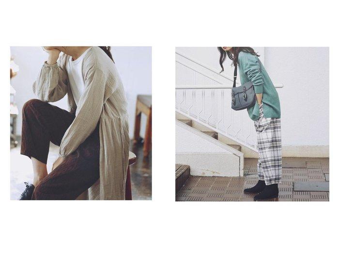 【studio CLIP/スタディオ クリップ】のスラウチマルシェPT パンツのおすすめ!人気、レディースファッションの通販 おすすめファッション通販アイテム レディースファッション・服の通販 founy(ファニー) ファッション Fashion レディース WOMEN パンツ Pants ジーンズ ソックス チェック プリント ワイド 人気 今季 無地 A/W 秋冬 Autumn & Winter |ID:crp329100000004865