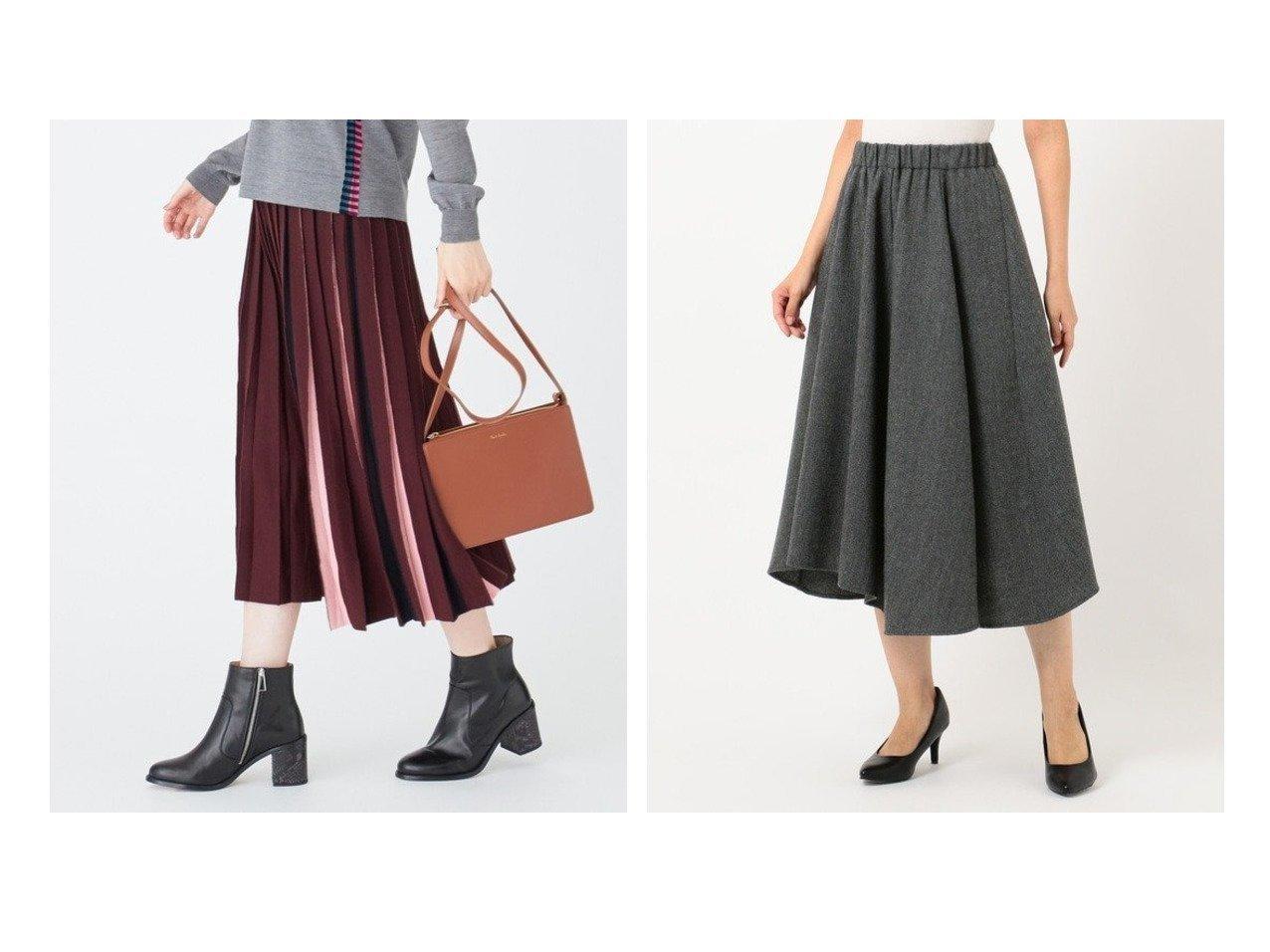 【Paul Smith/ポール スミス】の【洗える!】コントラストカラーニット スカート&【any FAM/エニィファム】のへリンボンイレヘム スカート スカートのおすすめ!人気、レディースファッションの通販 おすすめで人気のファッション通販商品 インテリア・家具・キッズファッション・メンズファッション・レディースファッション・服の通販 founy(ファニー) https://founy.com/ ファッション Fashion レディース WOMEN スカート Skirt カラフル プリーツ イレギュラーヘム ギャザー ショート ジャケット ダウン |ID:crp329100000004891