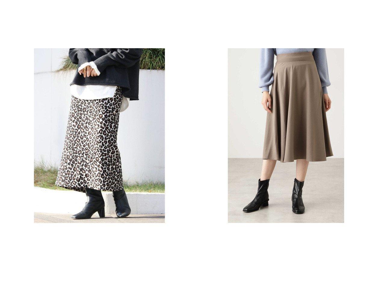 【N.Natural Beauty basic/エヌ ナチュラルビューティーベーシック】のスモーキーフレアスカート&【UNGRID/アングリッド】のUngrid レオパードジャカードスカート スカートのおすすめ!人気、レディースファッションの通販 おすすめで人気のファッション通販商品 インテリア・家具・キッズファッション・メンズファッション・レディースファッション・服の通販 founy(ファニー) https://founy.com/ ファッション Fashion レディース WOMEN スカート Skirt Aライン/フレアスカート Flared A-Line Skirts アクセサリー ショート シンプル ジャカード スニーカー スリット タイトスカート バランス レオパード フレア ベーシック ミモレ |ID:crp329100000004898