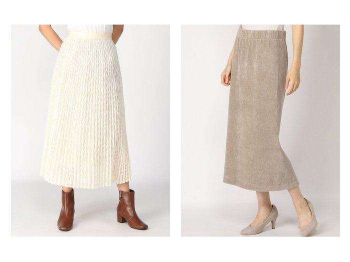 【BARNYARDSTORM/バンヤードストーム】のジャカードシフォンSK&【IENA/イエナ】のコーデュロイジャージSK Re2 スカートのおすすめ!人気、レディースファッションの通販 おすすめファッション通販アイテム レディースファッション・服の通販 founy(ファニー) ファッション Fashion レディース WOMEN スカート Skirt プリーツスカート Pleated Skirts ロングスカート Long Skirt ギャザー シフォン ジャカード プリーツ ロング 今季 A/W 秋冬 Autumn & Winter コーデュロイ ジャージ ストレート バランス 人気 |ID:crp329100000004909