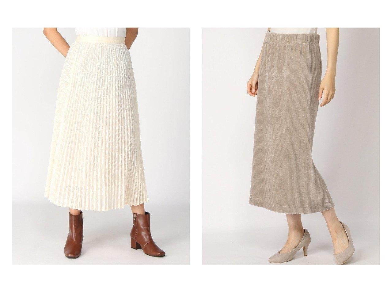 【BARNYARDSTORM/バンヤードストーム】のジャカードシフォンSK&【IENA/イエナ】のコーデュロイジャージSK Re2 スカートのおすすめ!人気、レディースファッションの通販 おすすめファッション通販アイテム インテリア・キッズ・メンズ・レディースファッション・服の通販 founy(ファニー) ファッション Fashion レディース WOMEN スカート Skirt ロングスカート Long Skirt プリーツスカート Pleated Skirts A/W 秋冬 Autumn & Winter コーデュロイ ジャージ ストレート バランス ロング 人気 ギャザー シフォン ジャカード プリーツ 今季 ホワイト系 White ブラック系 Black |ID:crp329100000004909
