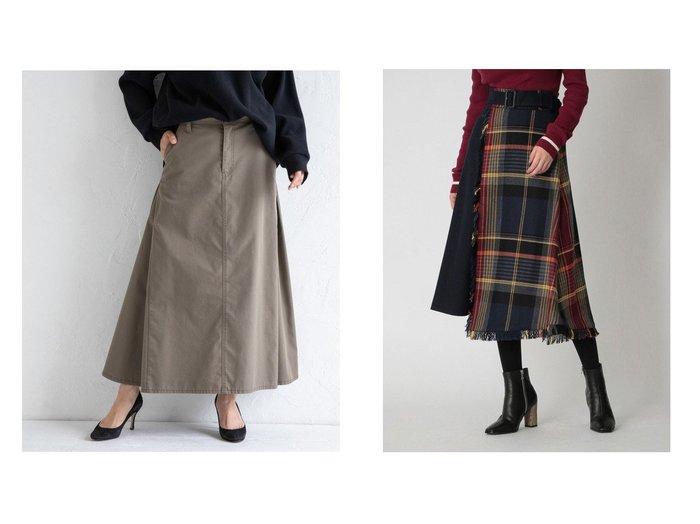 【Munich/ミューニック】の高密度TCチノマキシスカート&【LOVELESS/ラブレス】のチェックコンビ スカート スカートのおすすめ!人気、レディースファッションの通販 おすすめファッション通販アイテム レディースファッション・服の通販 founy(ファニー) ファッション Fashion レディース WOMEN スカート Skirt ロングスカート Long Skirt オレンジ カットオフ サンダル シューズ スウェット ストレッチ スニーカー スポーツ 人気 バランス フェミニン ベーシック ボックス マキシ ミュール ロング 冬 Winter イタリア コンビ チェック ツイード トレンド 無地 |ID:crp329100000004912