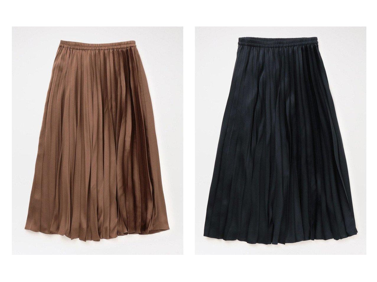【LOVELESS/ラブレス】の【LOVELESS×otona MUSE】リバーシブル プリーツスカート スカートのおすすめ!人気、レディースファッションの通販 おすすめファッション通販アイテム インテリア・キッズ・メンズ・レディースファッション・服の通販 founy(ファニー) ファッション Fashion レディース WOMEN スカート Skirt プリーツスカート Pleated Skirts ロングスカート Long Skirt エレガント オーガンジー サテン シンプル トレンド ドレス フェミニン プリーツ ベーシック リバーシブル ロング 人気 雑誌 ブラウン系 Brown ブルー系 Blue |ID:crp329100000004917