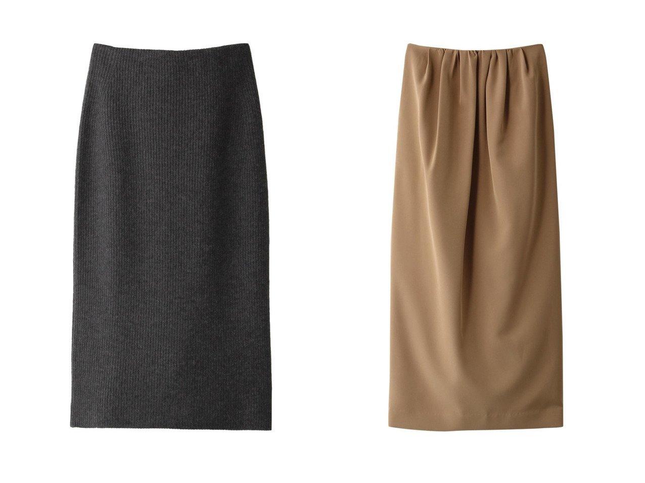 【Chaos/カオス】のCR7GポルテアゼKTスカート&【CLANE/クラネ】のスカート スカートのおすすめ!人気、レディースファッションの通販 おすすめファッション通販アイテム インテリア・キッズ・メンズ・レディースファッション・服の通販 founy(ファニー) ファッション Fashion レディース WOMEN スカート Skirt ロングスカート Long Skirt カシミヤ シンプル トレンド ロング A/W 秋冬 Autumn & Winter ギャザー バランス 今季 ブラウン系 Brown ブラック系 Black ベージュ系 Beige |ID:crp329100000004920