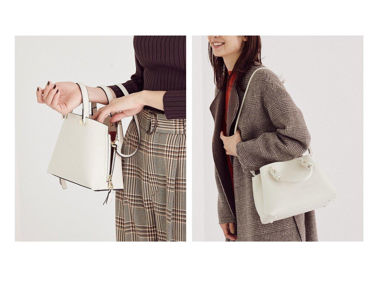 【ROPE/ロペ】のノットハンドルミドルトートバッグ&【新色追加】サイドジップミニショルダーバッグ バッグ・鞄のおすすめ!人気、レディースファッションの通販 おすすめで人気のファッション通販商品 インテリア・家具・キッズファッション・メンズファッション・レディースファッション・服の通販 founy(ファニー) https://founy.com/ ファッション Fashion レディース WOMEN バッグ Bag ジップ ベーシック 人気 軽量 トレンド マグネット |ID:crp329100000004925