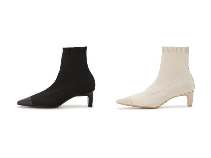 【FRAY I.D/フレイ アイディー】のニットショートブーツ シューズ・靴のおすすめ!人気、レディースファッションの通販 おすすめファッション通販アイテム レディースファッション・服の通販 founy(ファニー) ファッション Fashion レディース WOMEN シューズ スマート スリム センター バランス フィット |ID:crp329100000004934