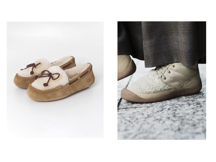 【KEEN/キーン】の(WOMEN)HOWSER II CHUKKA&【Sonny Label / URBAN RESEARCH/サニーレーベル】のUGG DAKOTA FLUFF シューズ・靴のおすすめ!人気、レディースファッションの通販 おすすめファッション通販アイテム レディースファッション・服の通販 founy(ファニー) ファッション Fashion レディース WOMEN 軽量 シューズ ショート シンプル スニーカー スペシャル フィット フェミニン ジーンズ セーター 人気 定番 |ID:crp329100000004952
