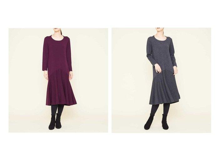 【SYBILLA/シビラ】のマーメイドニットドレス ワンピース・ドレスのおすすめ!人気、レディースファッションの通販  おすすめファッション通販アイテム レディースファッション・服の通販 founy(ファニー) ファッション Fashion レディース WOMEN ワンピース Dress ドレス Party Dresses エレガント ドレス フェミニン フレア ラウンド |ID:crp329100000005014