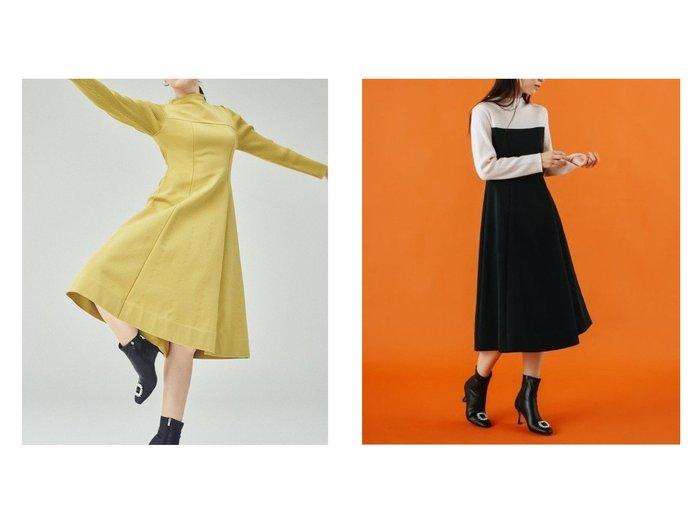 【CELFORD/セルフォード】のホールガーメントニットワンピース ワンピース・ドレスのおすすめ!人気、レディースファッションの通販  おすすめファッション通販アイテム インテリア・キッズ・メンズ・レディースファッション・服の通販 founy(ファニー) https://founy.com/ ファッション Fashion レディース WOMEN ワンピース Dress ニットワンピース Knit Dresses フィット フレア ホールガーメント ボトルネック |ID:crp329100000005031