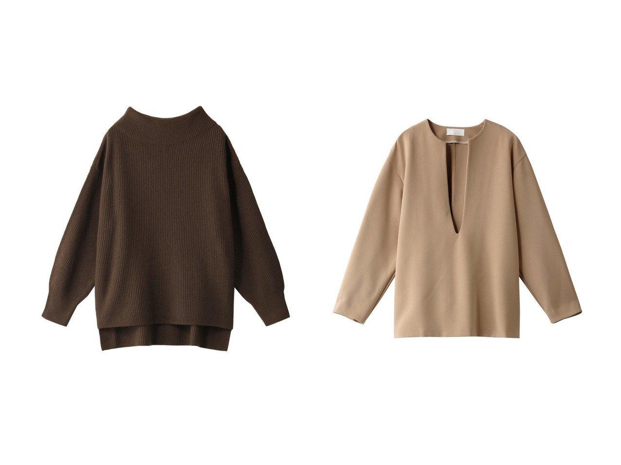 【Chaos/カオス】のCR7GポルテアゼKTプルオーバー&【GALLARDAGALANTE/ガリャルダガランテ】のダブルクロスVプルオーバー トップス・カットソーのおすすめ!人気、レディースファッションの通販  おすすめで人気のファッション通販商品 インテリア・家具・キッズファッション・メンズファッション・レディースファッション・服の通販 founy(ファニー) https://founy.com/ ファッション Fashion レディース WOMEN トップス Tops Tshirt ニット Knit Tops プルオーバー Pullover シャツ/ブラウス Shirts Blouses カシミヤ シンプル スリット スリーブ ボトルネック カットソー タートルネック ダブル トレンド ロング |ID:crp329100000005050