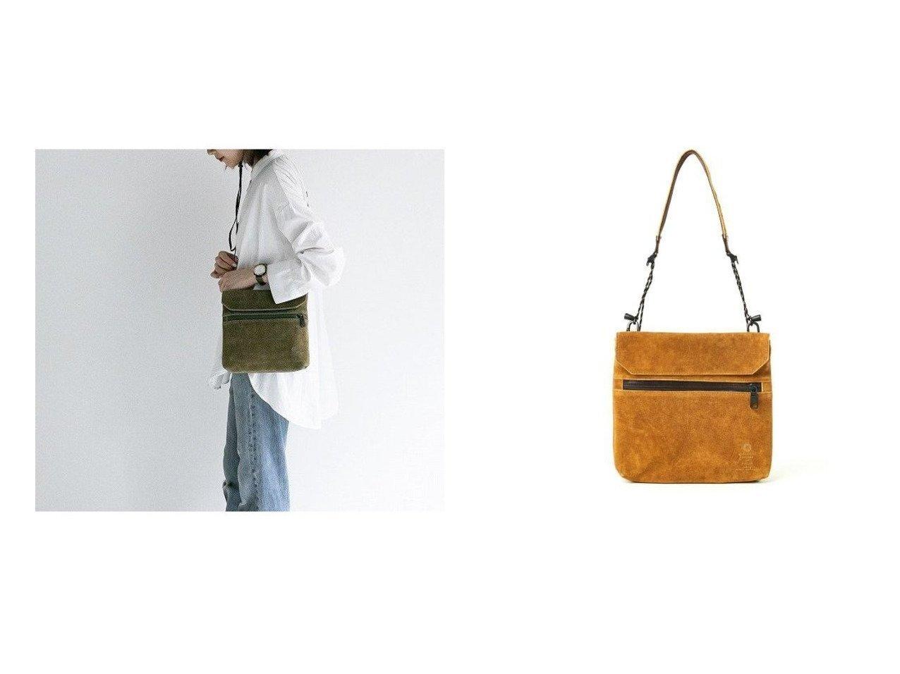 【AS2OV/アッソブ】のアッソブ SUEDE SACOCHE-CAMEL&アッソブ SUEDE SACOCHE-KHAKI 別注・限定・コラボなど、おすすめで人気!レディースファッション通販  おすすめで人気のファッション通販商品 インテリア・家具・キッズファッション・メンズファッション・レディースファッション・服の通販 founy(ファニー) https://founy.com/ ファッション Fashion レディース WOMEN ポーチ Pouches ショルダー スエード 財布 ポケット 別注 |ID:crp329100000005173