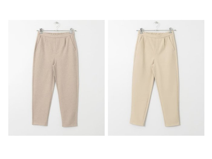 【Sonny Label / URBAN RESEARCH/サニーレーベル】のウエストタックカットテーパードパンツ パンツのおすすめ!人気、レディースファッションの通販 おすすめファッション通販アイテム レディースファッション・服の通販 founy(ファニー) ファッション Fashion レディース WOMEN パンツ Pants スタンダード ポケット |ID:crp329100000005282