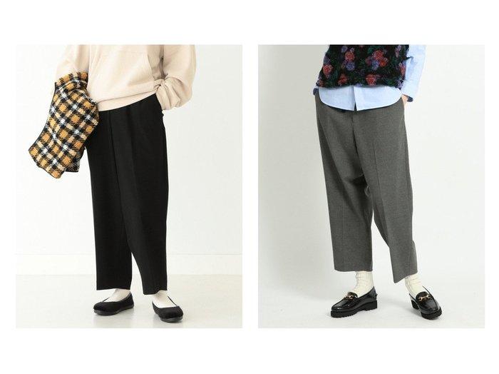 【BEAMS BOY/ビームス ボーイ】の2プリーツ ポリエステル レーヨン ブラッシュド パンツ パンツのおすすめ!人気、レディースファッションの通販 おすすめファッション通販アイテム レディースファッション・服の通販 founy(ファニー) ファッション Fashion レディース WOMEN パンツ Pants ウォーム ジーンズ スラックス プリーツ 冬 Winter |ID:crp329100000005294