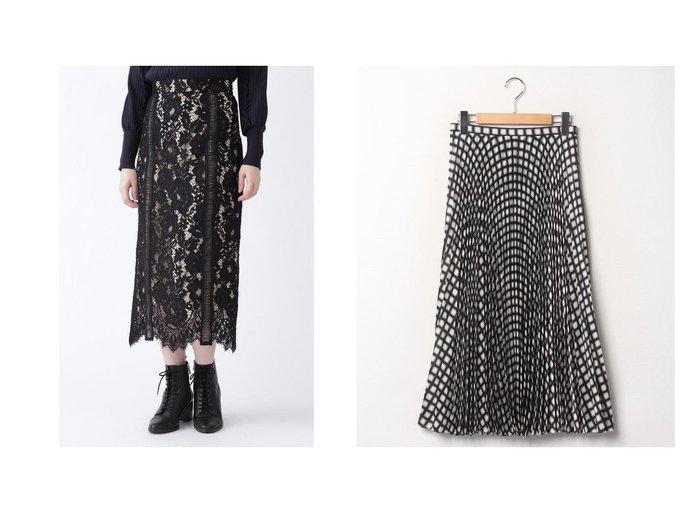 【theory/セオリー】のスカート CHECK TWILL POLY WB PLEAT&【JILLSTUART/ジルスチュアート】のネロレーススカート スカートのおすすめ!人気、レディースファッションの通販 おすすめファッション通販アイテム インテリア・キッズ・メンズ・レディースファッション・服の通販 founy(ファニー) https://founy.com/ ファッション Fashion レディース WOMEN スカート Skirt プリーツスカート Pleated Skirts エレガント ダウン チェック ファブリック プリント プリーツ モノトーン インナー グログラン スリット パイピング ミックス レース |ID:crp329100000005305