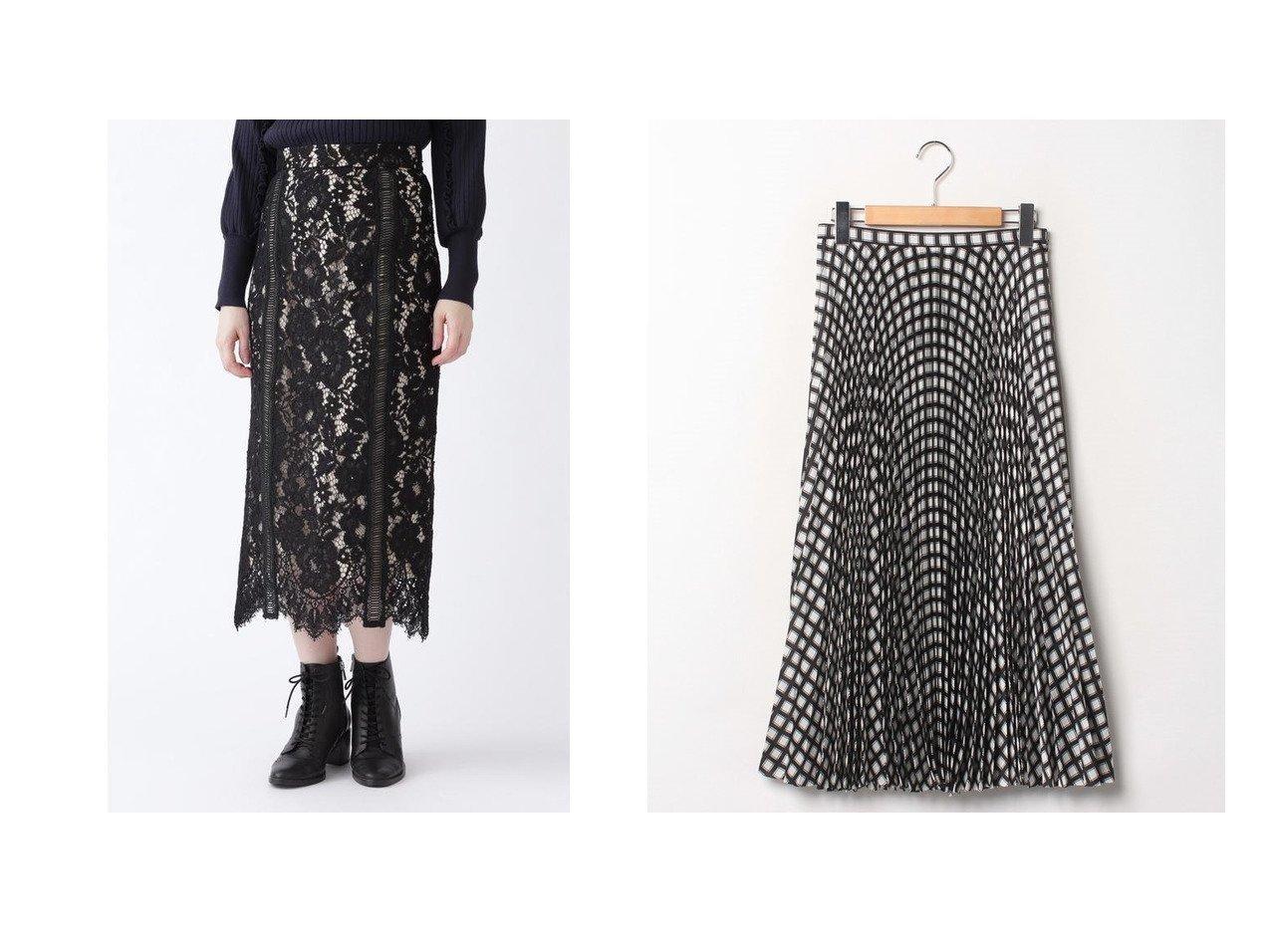 【theory/セオリー】のスカート CHECK TWILL POLY WB PLEAT&【JILLSTUART/ジルスチュアート】のネロレーススカート スカートのおすすめ!人気、レディースファッションの通販 おすすめで人気のファッション通販商品 インテリア・家具・キッズファッション・メンズファッション・レディースファッション・服の通販 founy(ファニー) https://founy.com/ ファッション Fashion レディース WOMEN スカート Skirt プリーツスカート Pleated Skirts エレガント ダウン チェック ファブリック プリント プリーツ モノトーン インナー グログラン スリット パイピング ミックス レース  ID:crp329100000005305