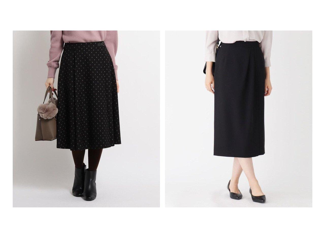 【Reflect/リフレクト】のクラバットジャカードスカート&【OPAQUE.CLIP/オペークドットクリップ】のCARREMANラップ風タイトスカート スカートのおすすめ!人気、レディースファッションの通販 おすすめで人気のファッション通販商品 インテリア・家具・キッズファッション・メンズファッション・レディースファッション・服の通販 founy(ファニー) https://founy.com/ ファッション Fashion レディース WOMEN スカート Skirt Aライン/フレアスカート Flared A-Line Skirts スーツ Suits スーツ スカート Skirt ウォーム ジャカード ドレープ フレア ポケット 冬 Winter 無地 シンプル ジャケット ストレッチ スーツ ダブル フォーマル フランス ラップ 定番 抗菌  ID:crp329100000005309