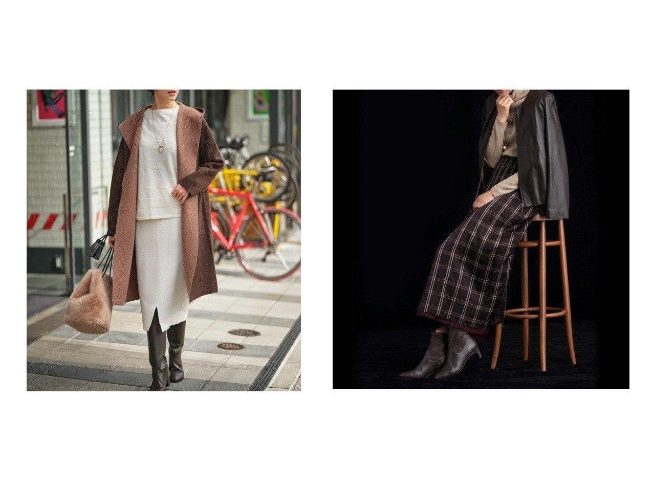 【JIYU-KU/自由区】の【UNFILO】レーヨンウール ニット スカート&【Sサイズ有】AOBUN CUPRA ジャガードリバーシブルスカート スカートのおすすめ!人気、レディースファッションの通販 おすすめで人気のファッション通販商品 インテリア・家具・キッズファッション・メンズファッション・レディースファッション・服の通販 founy(ファニー) https://founy.com/ ファッション Fashion レディース WOMEN スカート Skirt ストレッチ スリット ポケット 人気 抗菌 雑誌 キュプラ シャンブレー シャーリング チェック トレンド ドレープ プリーツ ミドル 無地 ランダム リバーシブル  ID:crp329100000005313