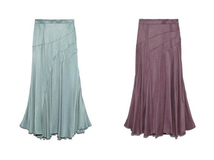 【FRAY I.D/フレイ アイディー】のフィブリルサテンロングSK スカートのおすすめ!人気、レディースファッションの通販 おすすめファッション通販アイテム レディースファッション・服の通販 founy(ファニー) ファッション Fashion レディース WOMEN スカート Skirt ロングスカート Long Skirt サテン フレア ロング |ID:crp329100000005324