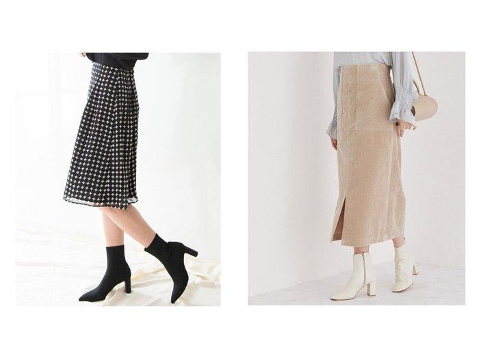 【ROPE/ロペ】の【Lサイズあり】コーデュロイストレッチタイトスカート&【NARACAMICIE/ナラ カミーチェ】の《セットアップ対応》シフォンドットスカート スカートのおすすめ!人気、レディースファッションの通販 おすすめファッション通販アイテム レディースファッション・服の通販 founy(ファニー) ファッション Fashion レディース WOMEN セットアップ Setup スカート Skirt スカート Skirt Aライン/フレアスカート Flared A-Line Skirts シフォン セットアップ フレア ウォーム コーデュロイ シャンブレー ストレッチ スリット センター 定番 |ID:crp329100000005326