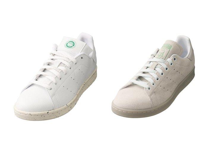 【PLAIN PEOPLE/プレインピープル】の【adidas】STAN SMITH FW2639&【adidas】STAN SMITH FV0534 シューズ・靴のおすすめ!人気、レディースファッションの通販 おすすめファッション通販アイテム インテリア・キッズ・メンズ・レディースファッション・服の通販 founy(ファニー) https://founy.com/ ファッション Fashion レディース WOMEN シンプル スニーカー ランダム スエード  ID:crp329100000005330