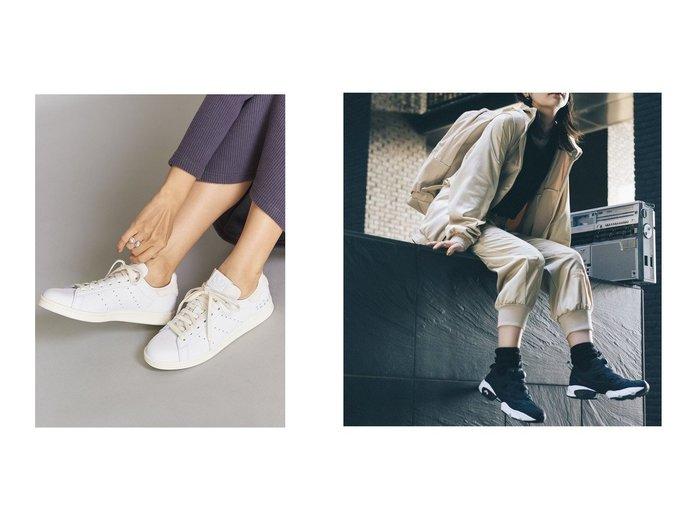 【BEAUTY&YOUTH UNITED ARROWS/ビューティアンド ユースユナイテッドアローズ】のレザースタンスミス&【Reebok CLASSIC/リーボック】のINSTAPUMP FURY OG MU シューズ・靴のおすすめ!人気、レディースファッションの通販 おすすめファッション通販アイテム レディースファッション・服の通販 founy(ファニー) ファッション Fashion レディース WOMEN シューズ スニーカー スリッポン ファブリック フィット ランニング グラフィック トレンド 人気 ライニング |ID:crp329100000005336