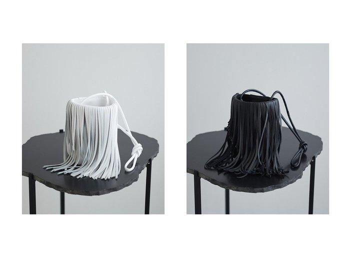 【GALLARDAGALANTE/ガリャルダガランテ】の【NOMADIS】フリンジバッグ/Puli バッグのおすすめ!人気、レディースファッションの通販 おすすめファッション通販アイテム レディースファッション・服の通販 founy(ファニー) ファッション Fashion レディース WOMEN カッティング ショルダー フリンジ ランダム |ID:crp329100000005347