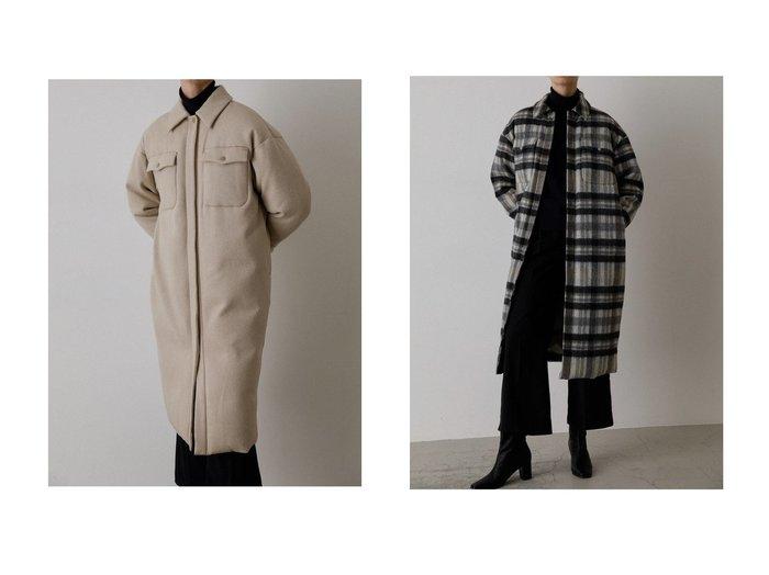 【RIM.ARK/リムアーク】のコート アウターのおすすめ!人気、レディースファッションの通販 おすすめファッション通販アイテム レディースファッション・服の通販 founy(ファニー) ファッション Fashion レディース WOMEN アウター Coat Outerwear コート Coats ダウン マキシ メルトン ロング |ID:crp329100000005391