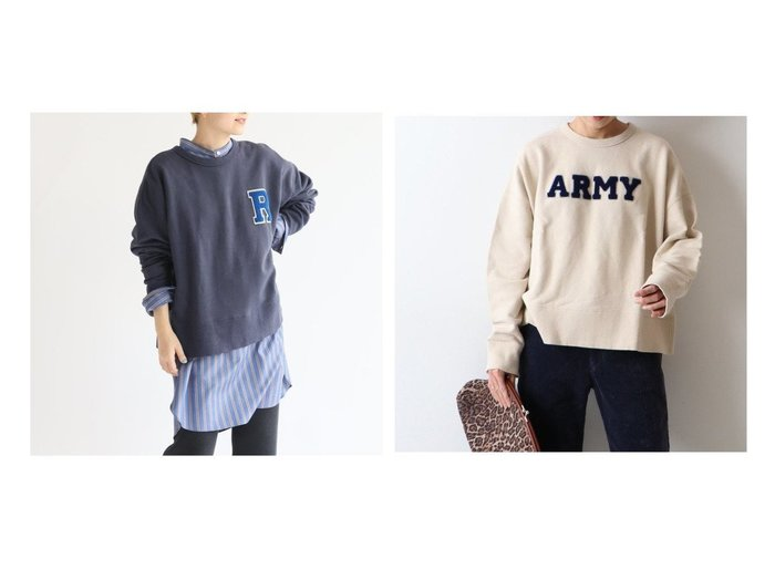 【FRAMeWORK/フレームワーク】のワッペンスウェット トップス・カットソーのおすすめ!人気、レディースファッションの通販 おすすめファッション通販アイテム レディースファッション・服の通販 founy(ファニー) ファッション Fashion レディース WOMEN トップス Tops Tshirt シャツ/ブラウス Shirts Blouses パーカ Sweats ロング / Tシャツ T-Shirts スウェット Sweat カットソー Cut and Sewn A/W 秋冬 Autumn & Winter カットソー コンパクト スウェット バランス |ID:crp329100000005463