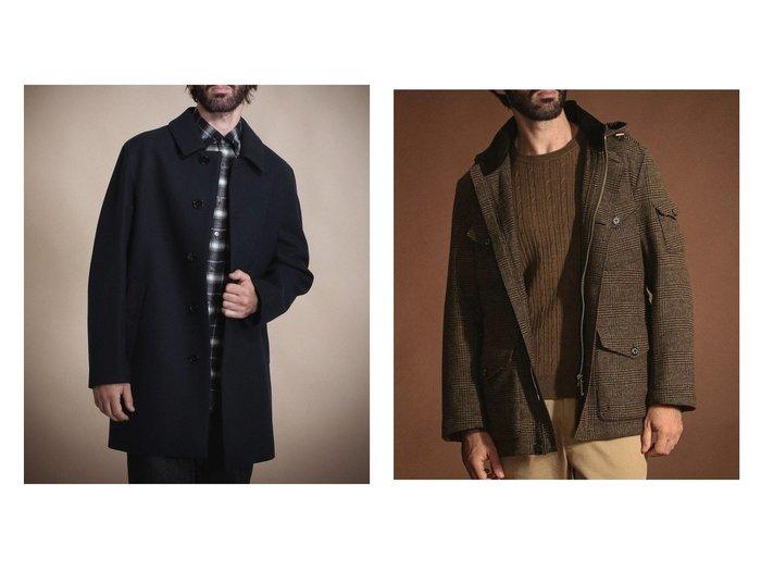 【MACKINTOSH LONDON / MEN/マッキントッシュ ロンドン】の【BERWICK】【ボットーリ】ブルゾン&【MACKINTOSH】【DUNOON】 メルトンコート 【MEN】別注・限定・コラボなど、おすすめで人気!メンズファッション通販 おすすめファッション通販アイテム レディースファッション・服の通販 founy(ファニー) ファッション Fashion メンズ MEN ショート ジャケット スタンダード フォルム メルトン 別注 |ID:crp329100000005558