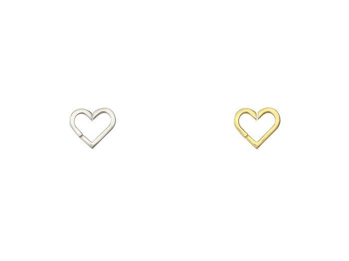 【KNOWHOW/ノウハウ】のHeart イヤーカフ(片耳用)&Heart イヤーカフ(片耳用) アクセサリー・ジュエリーおすすめ!人気、レディースファッションの通販  おすすめファッション通販アイテム インテリア・キッズ・メンズ・レディースファッション・服の通販 founy(ファニー) https://founy.com/ ファッション Fashion レディース WOMEN ジュエリー Jewelry リング Rings イヤリング Earrings イヤーカフ ガーリー シルバー デニム モチーフ 片耳 |ID:crp329100000005609