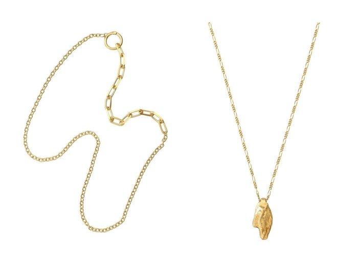 【KNOWHOW/ノウハウ】のCable Chain M フープネックレス&【Preek/プリーク】のDROP ネックレス アクセサリー・ジュエリーおすすめ!人気、レディースファッションの通販  おすすめファッション通販アイテム レディースファッション・服の通販 founy(ファニー) ファッション Fashion レディース WOMEN ジュエリー Jewelry ネックレス Necklaces チェーン ネックレス フープ ドレス モチーフ |ID:crp329100000005611