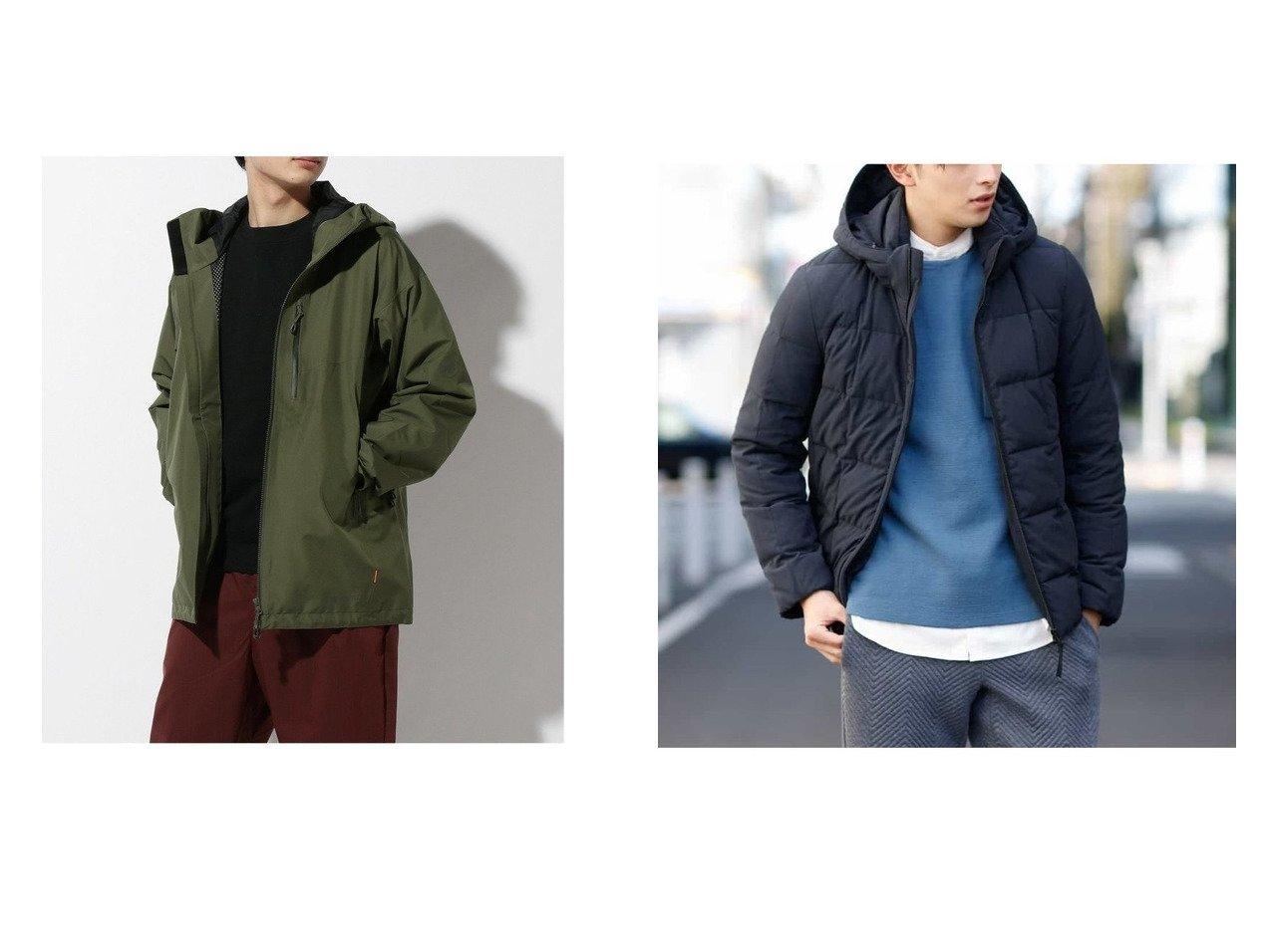 【MAMMUT / MEN/マムート】のAyako Pro HS Hooded Jacket AF Men&【a.v.v HOMME / MEN/アー ヴェー ヴェー】のデタッチャブルフードストレッチダウンブルゾン 【MEN】男性のおすすめ!人気、メンズファッションの通販 おすすめで人気のファッション通販商品 インテリア・家具・キッズファッション・メンズファッション・レディースファッション・服の通販 founy(ファニー) https://founy.com/ ファッション Fashion メンズ MEN ジップ ジャケット ポケット スタンド ストレッチ スマート ダウン パターン パーカー ブルゾン ボックス 冬 Winter |ID:crp329100000005684