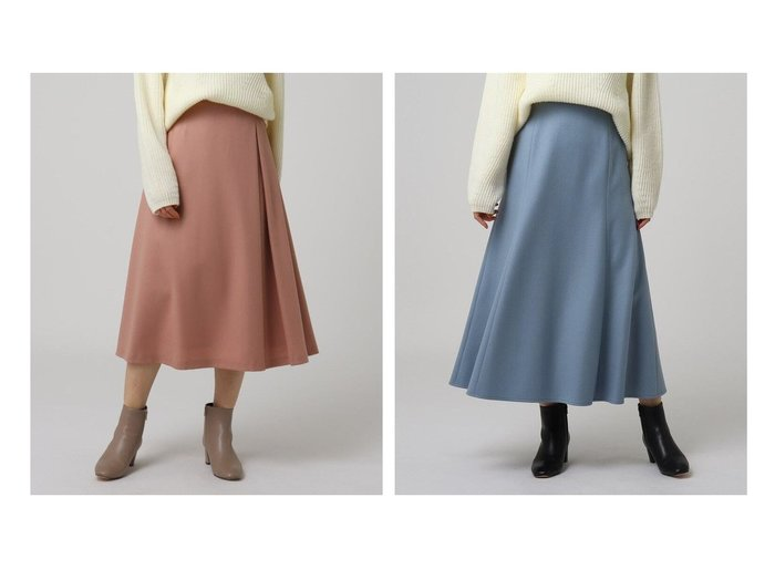 【UNTITLED/アンタイトル】のハイカウントフラノタックスカート&ルミナリーミルドジャージマーメイドスカート スカートのおすすめ!人気、レディースファッションの通販 おすすめファッション通販アイテム インテリア・キッズ・メンズ・レディースファッション・服の通販 founy(ファニー) https://founy.com/ ファッション Fashion レディース WOMEN スカート Skirt Aライン/フレアスカート Flared A-Line Skirts アシンメトリー インナー バランス フレア ポケット ミドル 人気 A/W 秋冬 Autumn & Winter マーメイド |ID:crp329100000005790