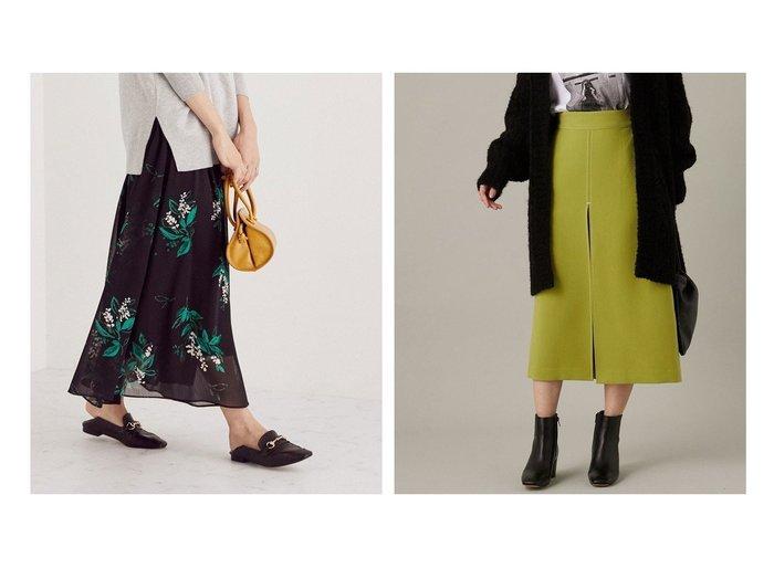【Adam et Rope/アダム エ ロペ】のフロントステッチタイトスカート&【ROPE/ロペ】のスズランプリント楊柳マキシスカート スカートのおすすめ!人気、レディースファッションの通販 おすすめファッション通販アイテム レディースファッション・服の通販 founy(ファニー) ファッション Fashion レディース WOMEN スカート Skirt ギャザー シンプル フレア プリント マキシ 楽ちん ストレッチ タイトスカート トレンド フロント プリーツ ベーシック ポケット  ID:crp329100000005791