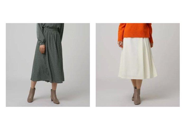 【UNTITLED/アンタイトル】のハイカウントフラノタックスカート&フェミニッシュドットフレアスカート スカートのおすすめ!人気、レディースファッションの通販 おすすめファッション通販アイテム インテリア・キッズ・メンズ・レディースファッション・服の通販 founy(ファニー) https://founy.com/ ファッション Fashion レディース WOMEN スカート Skirt Aライン/フレアスカート Flared A-Line Skirts ギャザー ショート トレンド ドット フィット フェミニン フレア ポケット 今季 アシンメトリー インナー バランス ミドル 人気 A/W 秋冬 Autumn & Winter |ID:crp329100000005798