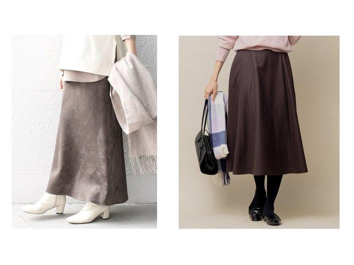 【SHIPS/シップス フォー ウィメン】の【手洗い可能】カラーフェイクスエードスカート&【KUMIKYOKU/組曲】のウールソフトジョーゼット フレアスカート スカートのおすすめ!人気、レディースファッションの通販 おすすめファッション通販アイテム インテリア・キッズ・メンズ・レディースファッション・服の通販 founy(ファニー) https://founy.com/ ファッション Fashion レディース WOMEN スカート Skirt ロングスカート Long Skirt Aライン/フレアスカート Flared A-Line Skirts ジャージー ストレッチ ドレープ フェイクスエード リアル ロング 冬 Winter 春 A/W 秋冬 Autumn & Winter キュロット ジョーゼット ファブリック フレア ミモレ |ID:crp329100000005804