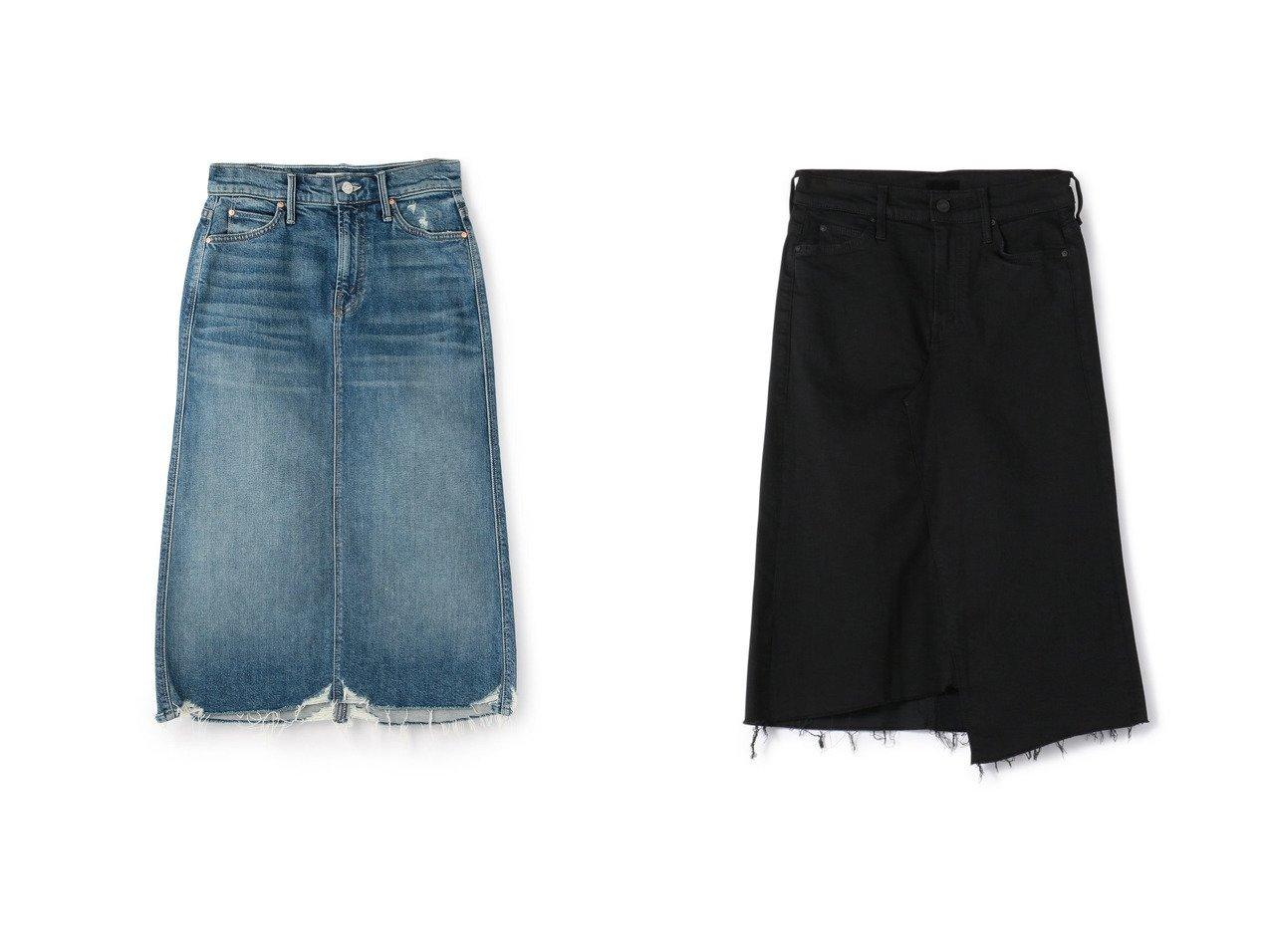 【MOTHER DENIM/マザーデニム】のMOTHERデニムスカート&MOTHERタイトデニムスカート おすすめ!人気トレンドファッションの通販 おすすめで人気のファッション通販商品 インテリア・家具・キッズファッション・メンズファッション・レディースファッション・服の通販 founy(ファニー) https://founy.com/ ファッション Fashion レディース WOMEN スカート Skirt デニムスカート Denim Skirts ジーンズ ストレート デニム トレンド ベーシック 人気 |ID:crp329100000005976