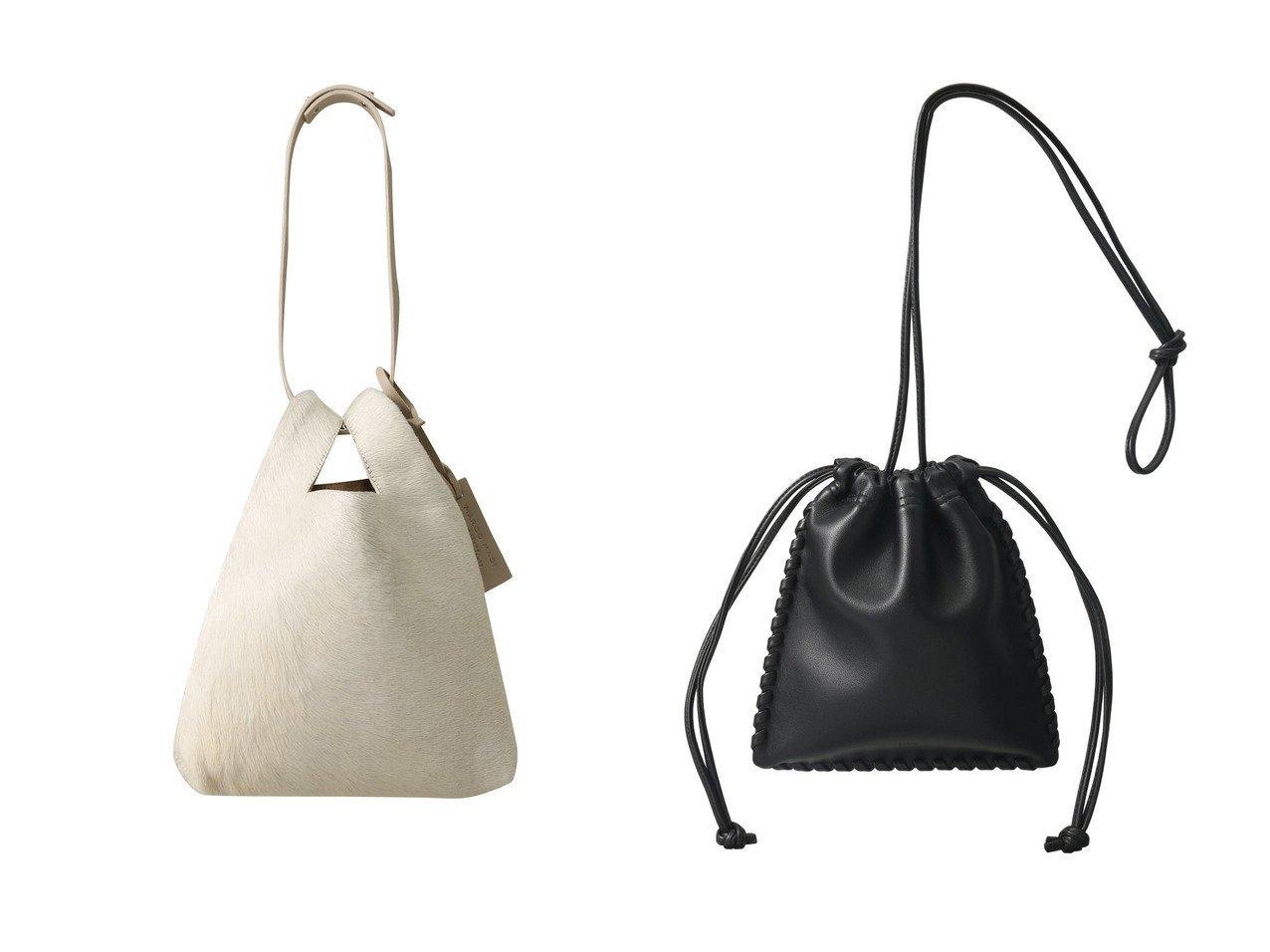 【MARCO MASI/マルコマージ】のヘアカーフ2wayハンドルバッグ&【VASIC/ヴァジック】のWells Mini Mini 2way巾着ショルダーバッグ バッグ・鞄のおすすめ!人気トレンド・レディースファッションの通販 おすすめで人気のファッション通販商品 インテリア・家具・キッズファッション・メンズファッション・レディースファッション・服の通販 founy(ファニー) https://founy.com/ ファッション Fashion レディース WOMEN バッグ Bag ハンドバッグ A/W 秋冬 Autumn &  Winter エレガント ショルダー ポシェット ロング 巾着  ID:crp329100000006086