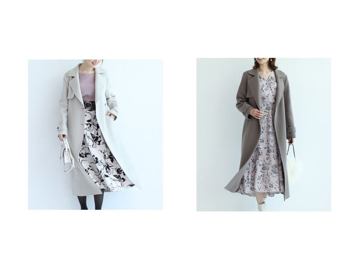 【Apuweiser-riche/アプワイザーリッシェ】のウールダブルフェイスコート アウターのおすすめ!人気トレンド・レディースファッションの通販 おすすめファッション通販アイテム レディースファッション・服の通販 founy(ファニー) ファッション Fashion レディース WOMEN アウター Coat Outerwear コート Coats |ID:crp329100000006134