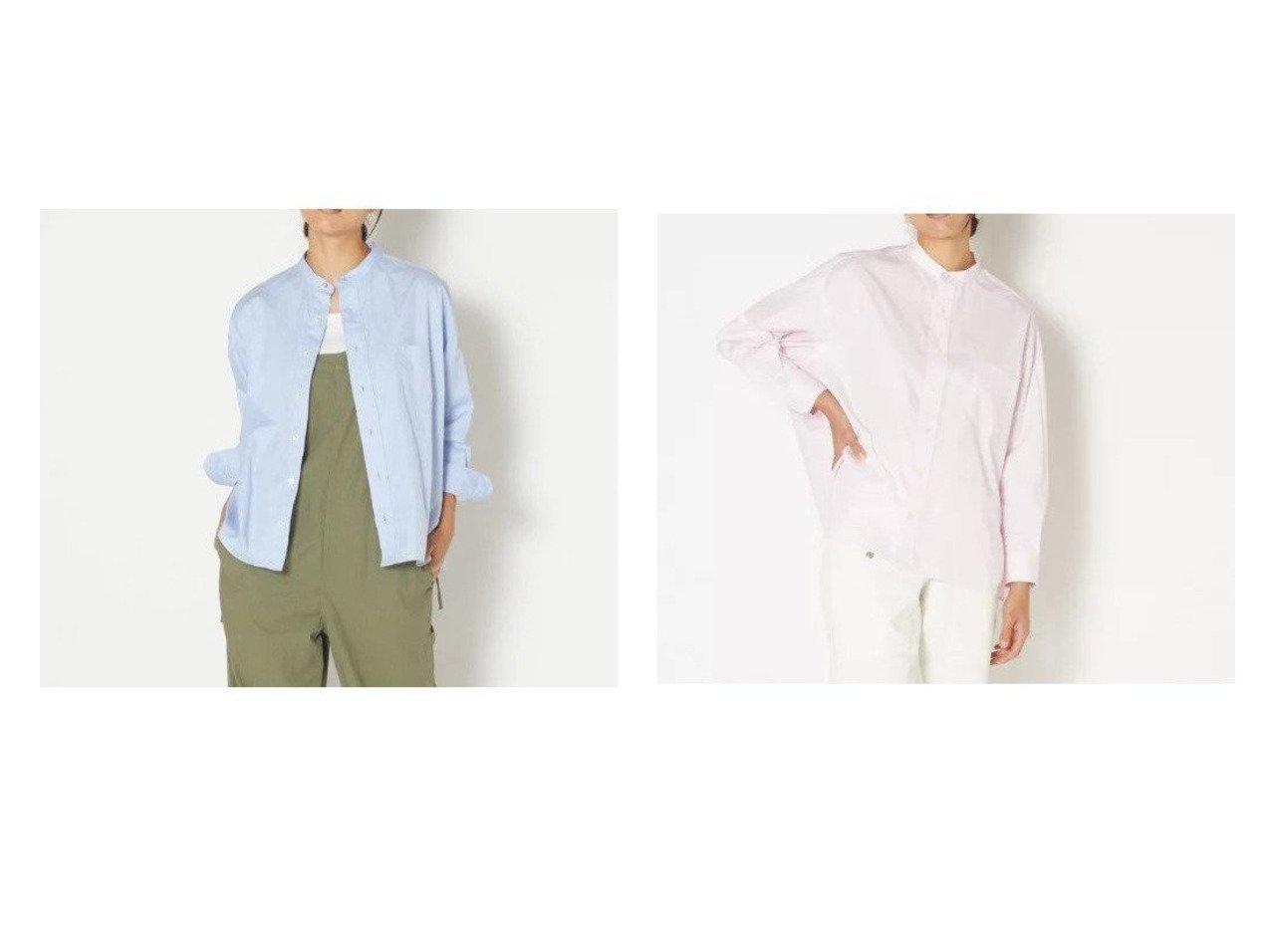 【TICCA/ティッカ】のノーカラースクエアービックシャツ トップス・カットソーのおすすめ!人気トレンド・レディースファッションの通販 おすすめで人気のファッション通販商品 インテリア・家具・キッズファッション・メンズファッション・レディースファッション・服の通販 founy(ファニー) https://founy.com/ ファッション Fashion レディース WOMEN トップス Tops Tshirt シャツ/ブラウス Shirts Blouses シルバー ドレープ ヴィンテージ 無地 長袖 |ID:crp329100000006240