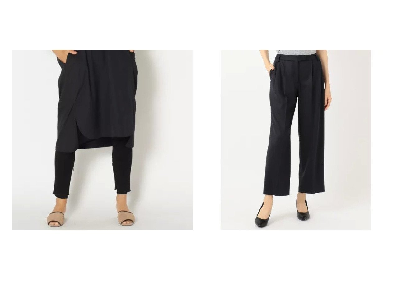 【TICCA/ティッカ】のレギンス&【JIYU-KU/自由区】の【Class Lounge】2WAY SAXONY パンツ パンツのおすすめ!人気トレンド・レディースファッションの通販 おすすめで人気のファッション通販商品 インテリア・家具・キッズファッション・メンズファッション・レディースファッション・服の通販 founy(ファニー) https://founy.com/ ファッション Fashion レディース WOMEN パンツ Pants レギンス Leggings レッグウェア Legwear アンダー シルケット タンク テレコ レギンス コレクション 軽量 シンプル ストレッチ フォルム ワイド A/W 秋冬 Autumn &  Winter |ID:crp329100000006302