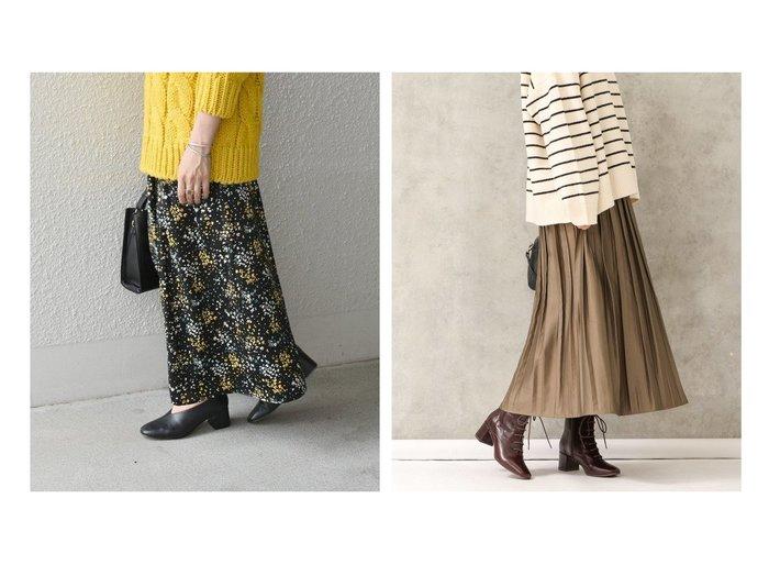 【SHIPS any/シップス エニィ】のSHIPS any プチフラワー ヴィンテージサテン スカート&【Gready Brilliant/グレディブリリアン】のダルメシアン柄ギャザースカート(モカは無地) スカートのおすすめ!人気トレンド・レディースファッションの通販 おすすめファッション通販アイテム レディースファッション・服の通販 founy(ファニー) ファッション Fashion レディース WOMEN スカート Skirt Aライン/フレアスカート Flared A-Line Skirts ギャザー ドット フレア プリント ランダム ショート スニーカー フィット プリーツ 無地 |ID:crp329100000006329